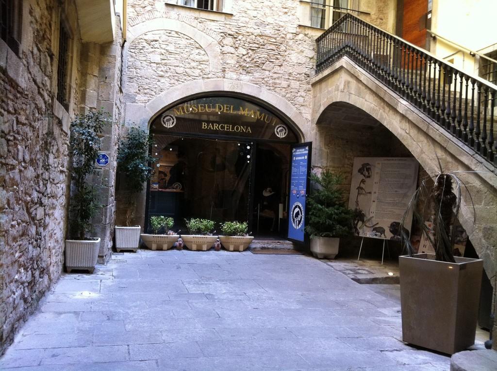 I Barcelona har de et – smukt beliggende – mammutmuseum. Foto: Kippelboy, Wikimedia Commons