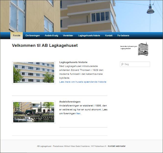 Case fra MAMMUTweb: AB Lagkagehuset